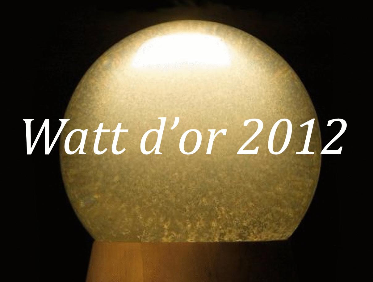 Watt d'or 2012